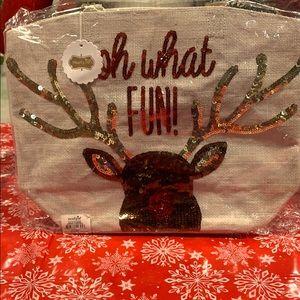 Brand new reindeer tote